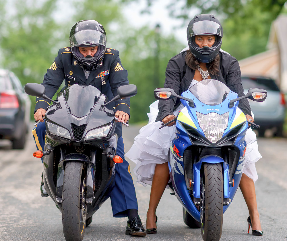 motorcyclebridewedding