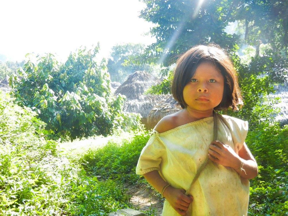 Kogi tribe in the Sierra Nevada Mountains