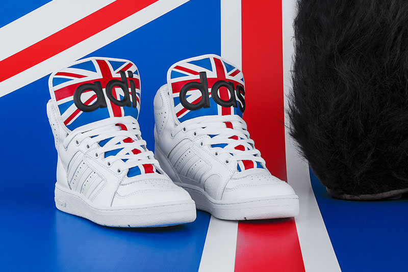 adidas jeremy scott british flag