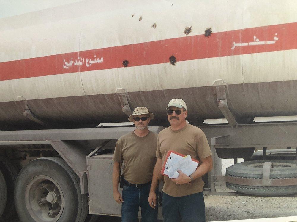 Iraq, 2003-2005 ~ Convoy Cdr. Steve Kelly
