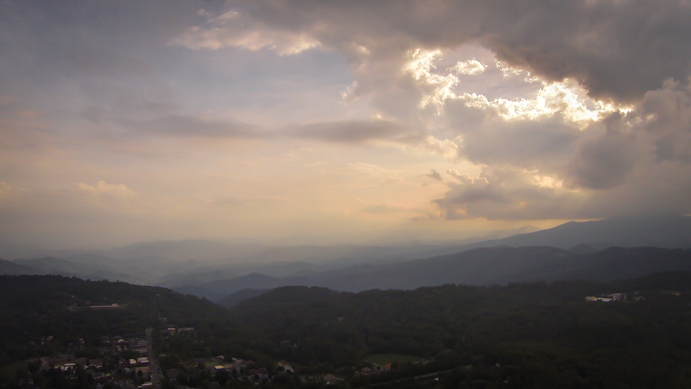 Storm Over Blowing Rock