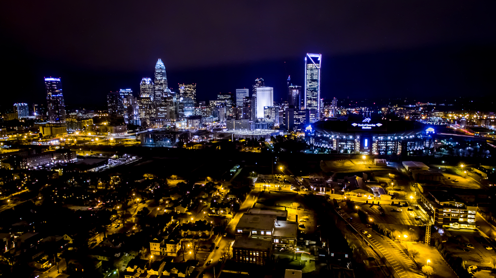 Night in the Queen City
