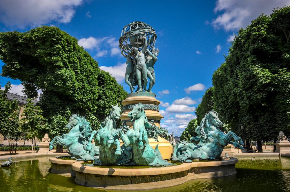 Fontaine des Quatre Parties du Monde