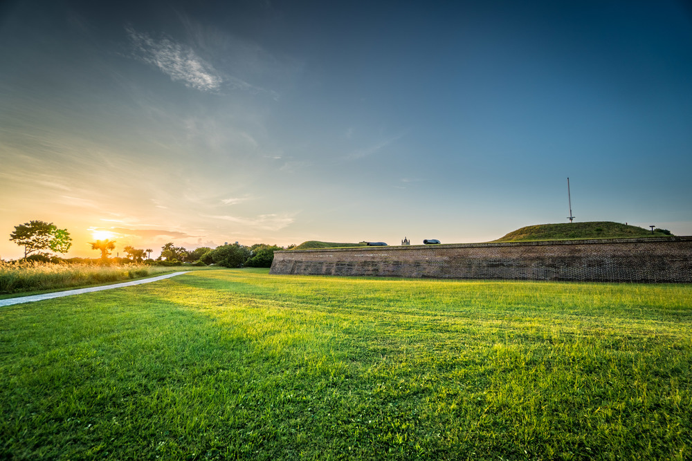 Fort Moultrie at Peace