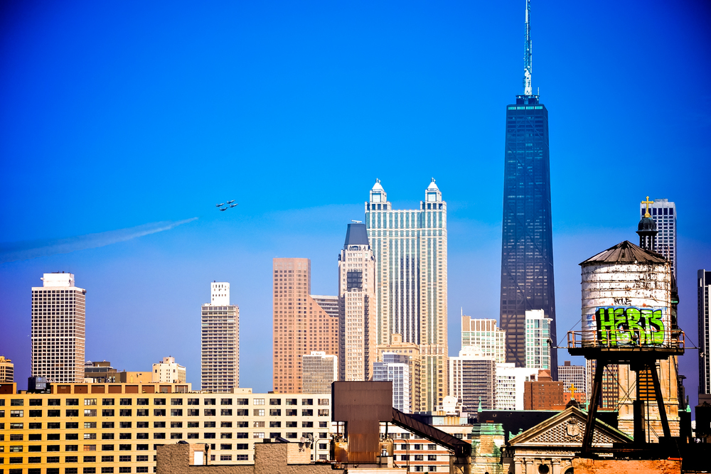 Thunderbirds over Chicago