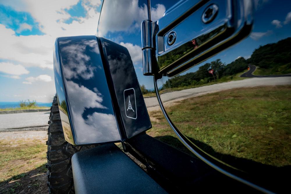 Blue Ridge Parkway TAD Jeep