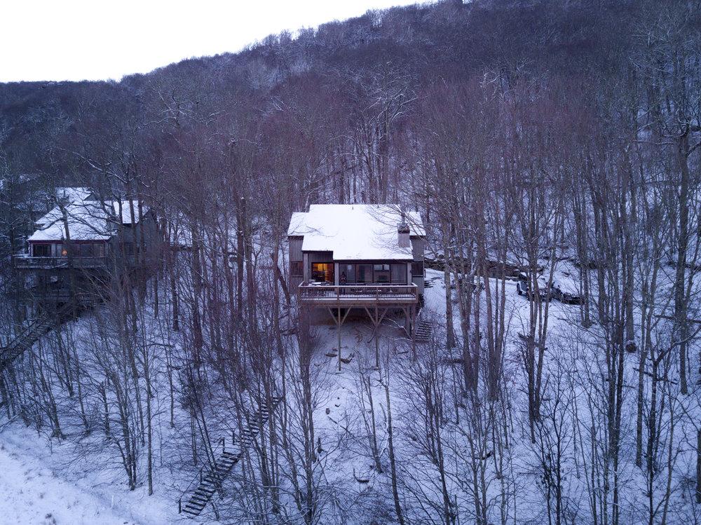 Snowy Chalet