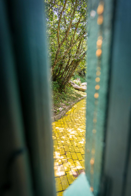 Hidden Yellow Brick Road