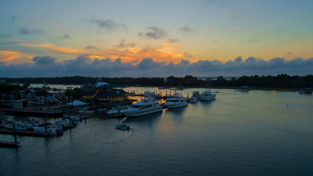 Last Light on Shem Creek
