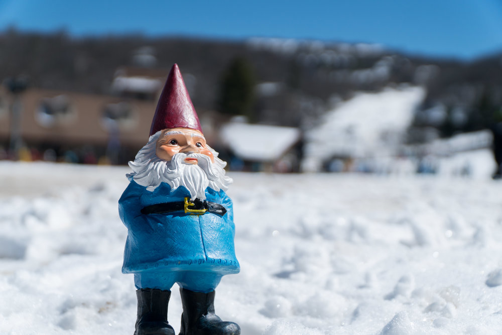 Travelocity's Roaming Gnome Visits Beech Mountain