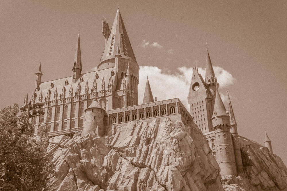 Old Postcard from Hogwarts