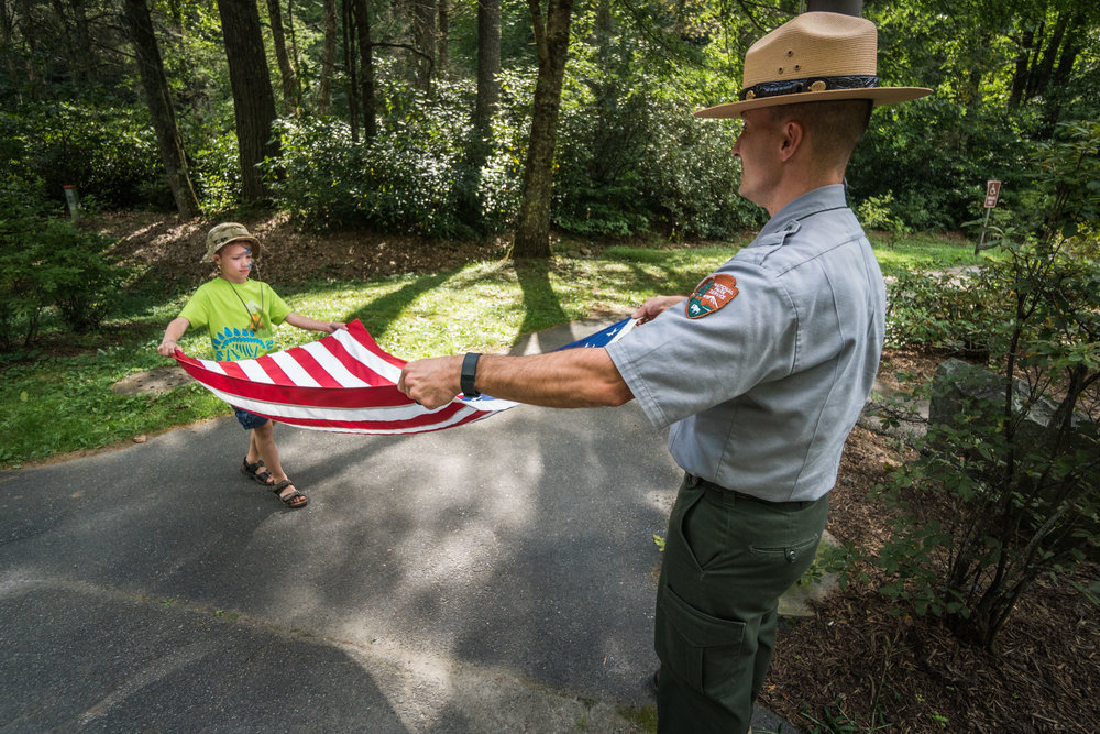 Flag Day with the National Park Service