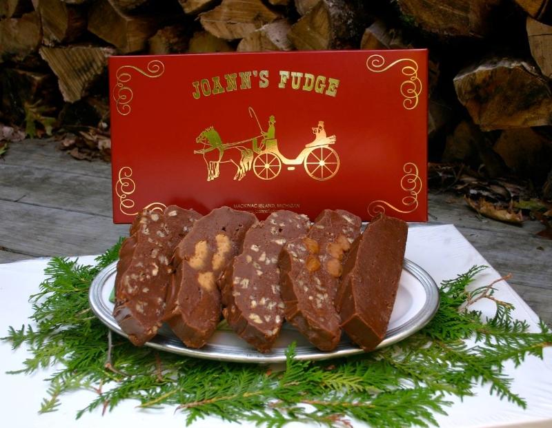 Joann's Fudge Five-Slice Box