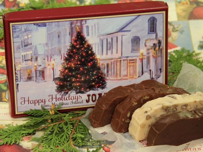 Joann's Fudge Four-Slice Christmas Box
