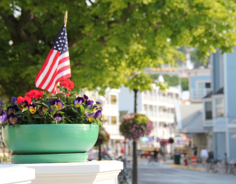 Main Street, Mackinac Island