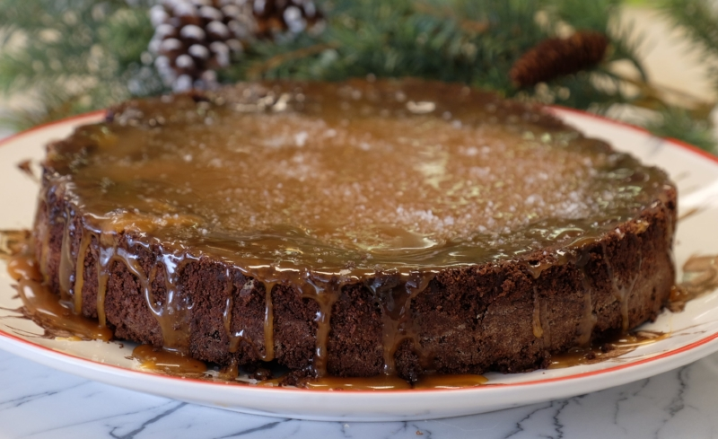 Joann's Fudge Chocolate Salted Caramel Brownies