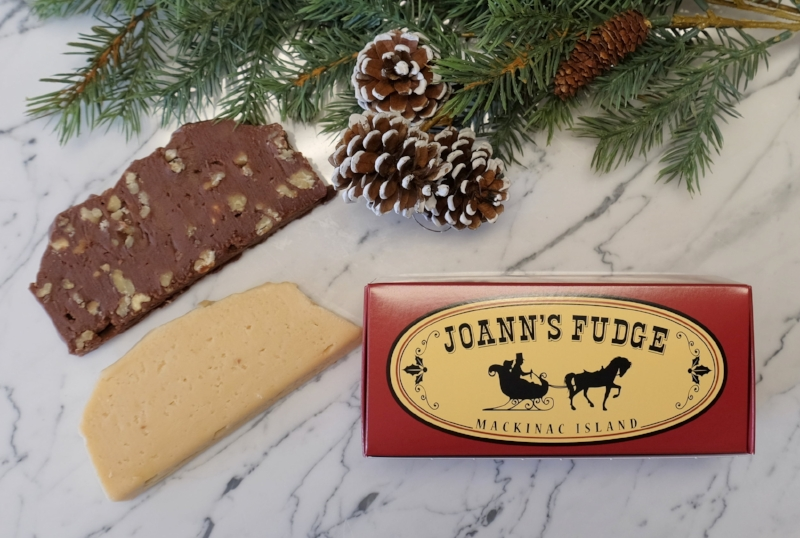 Two Slice Box of Joann's Fudge