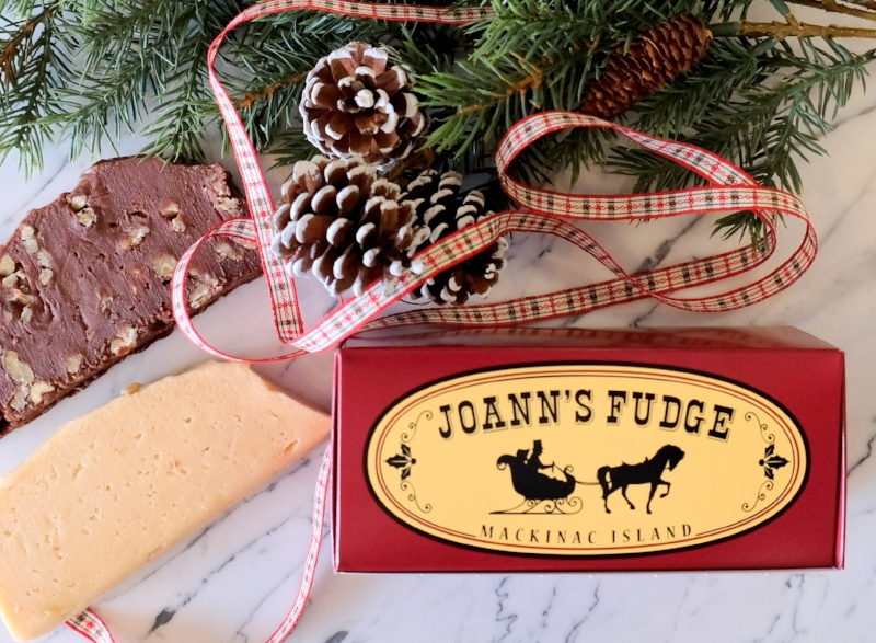 Two Slice Holiday Box of Joann's Fudge