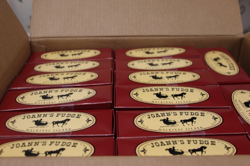 Some lucky folks are getting Joann's Fudge for Christmas!