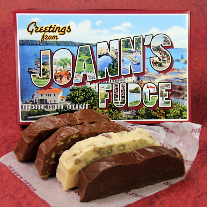 Joann's Fudge Four Slice Greetings Box