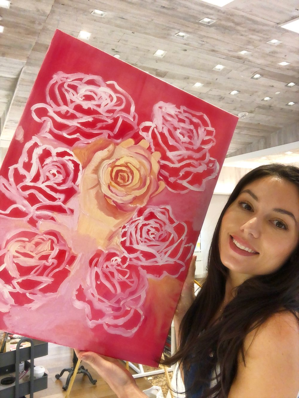 katrina-eugenia-philosophy-skincare-love-philosophy-amazing-grace-amazing-grace-ballet-rose-live-painting-oil-painting10.JPG