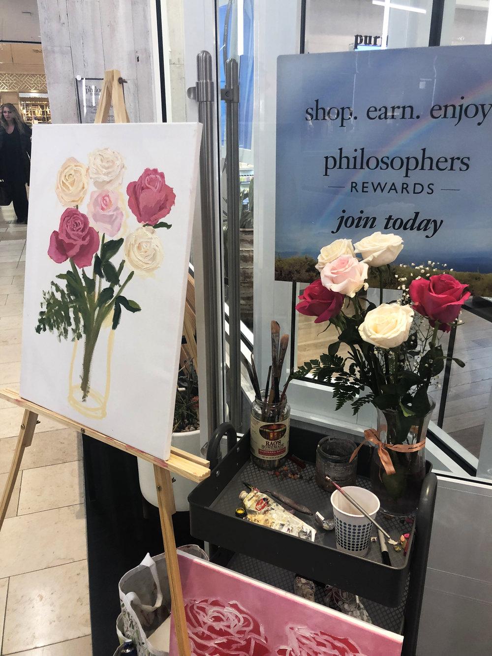 katrina-eugenia-philosophy-skincare-love-philosophy-amazing-grace-amazing-grace-ballet-rose-live-painting-oil-painting26.JPG