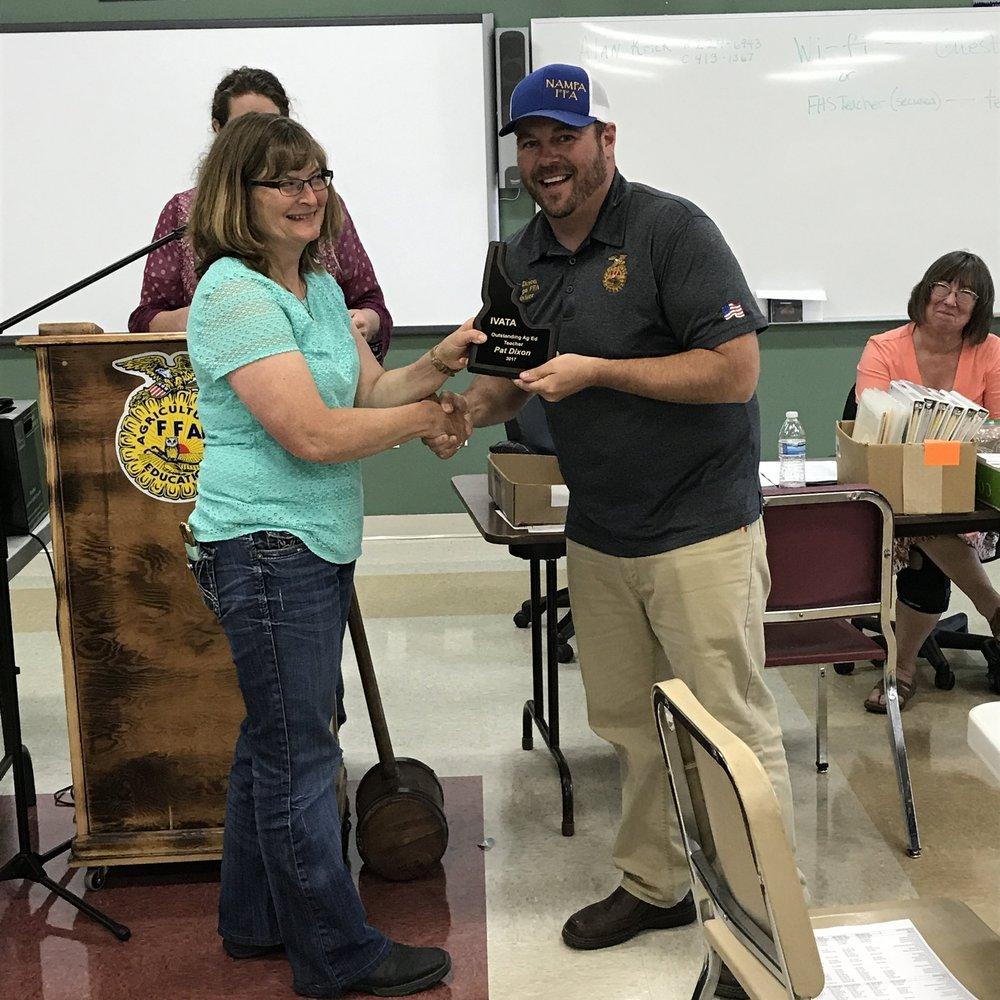 Outstanding Teacher-Pat Dixon, Nampa