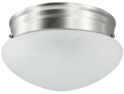 Pewter Hall Light