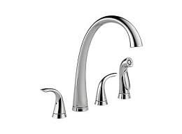 Delta Waterfall Chrome Kitchen Faucet