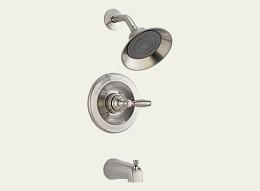 Delta Apex Brushed Nickel Tub/Shower Faucet