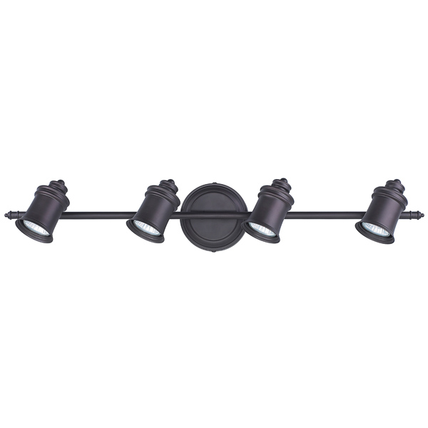 Taylor 4-Light Oil-Rubbed Bronze Track Light