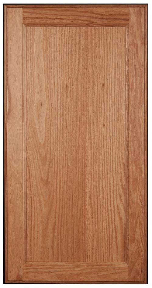 Flat-panel, square door