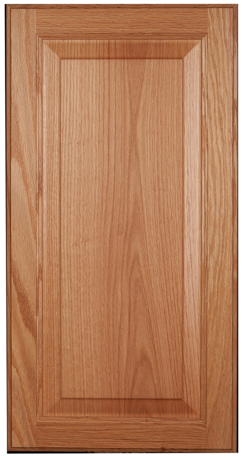 Raised-panel, square door