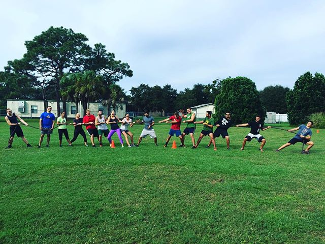 Fun field day full of sprints, tug of war and ultimate frisbee! #crossfitfam #saturdaymornings