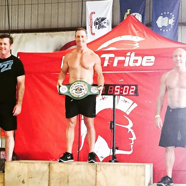 Congrats Don on finishing first in the 50+ group at the Central Florida Throwdown. Strong work.