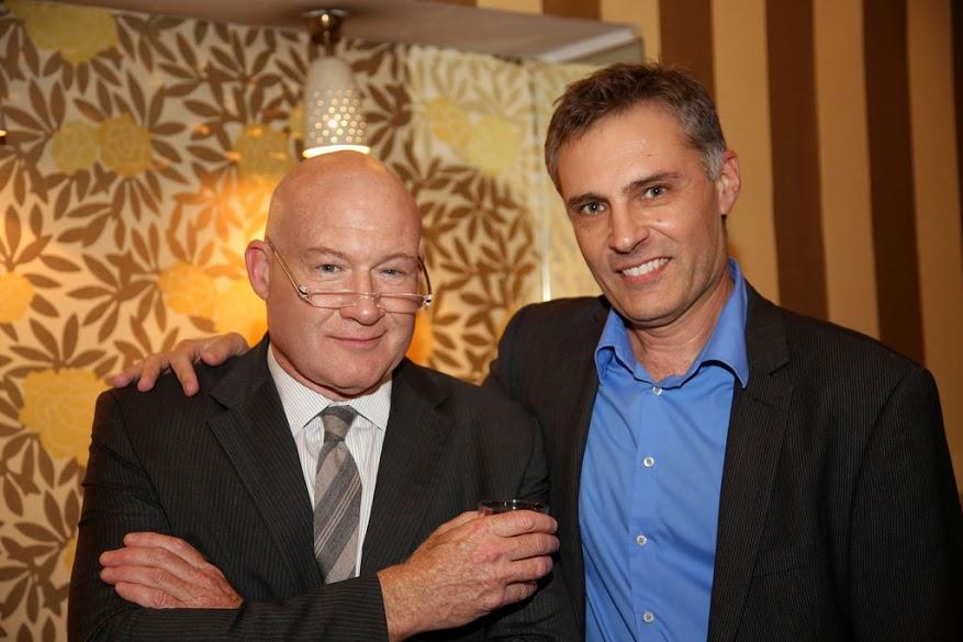 Ethan and Mircea. (Image:Florian Godovits)