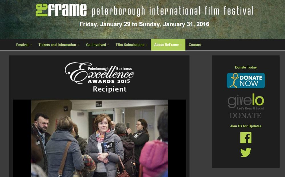 (Image: Screenshot of ReFrame International Film Festival webpage)