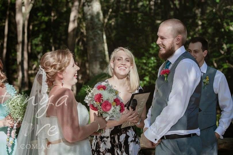 Our wonderful wedding!