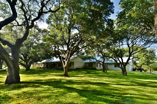 HWY 16 RANCH HOME ON 84+/- ACRES  FREDERICKSBURG, TX
