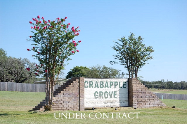 Crabapple Grove Lots for Sale * Fredericksburg, Tx