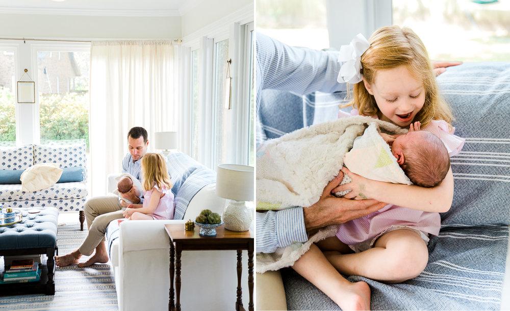 charleston candid newborn