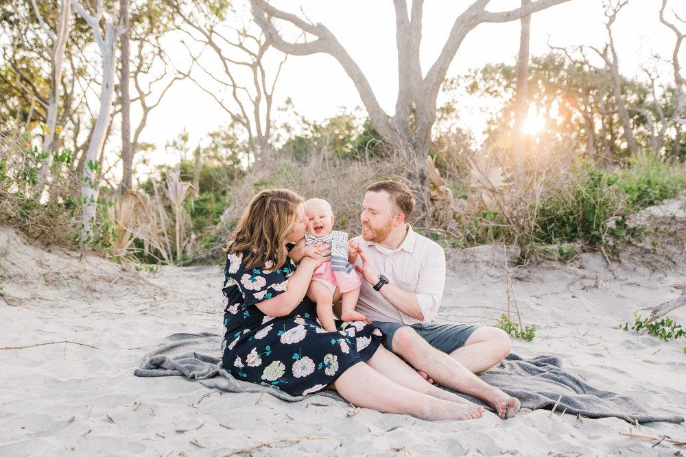 charleston family photographer beach