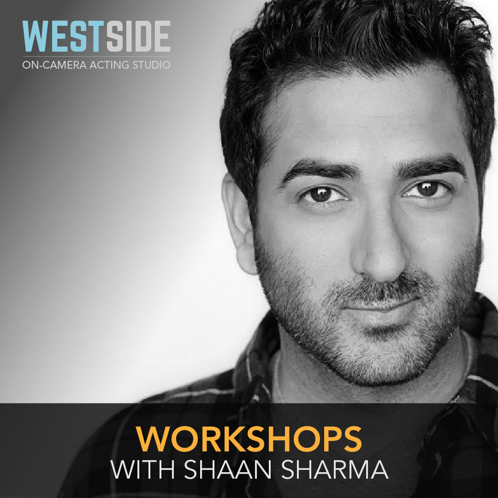 Westside Acting Studio's Flagship Commercial Workshop taught by Shaan Sharma.