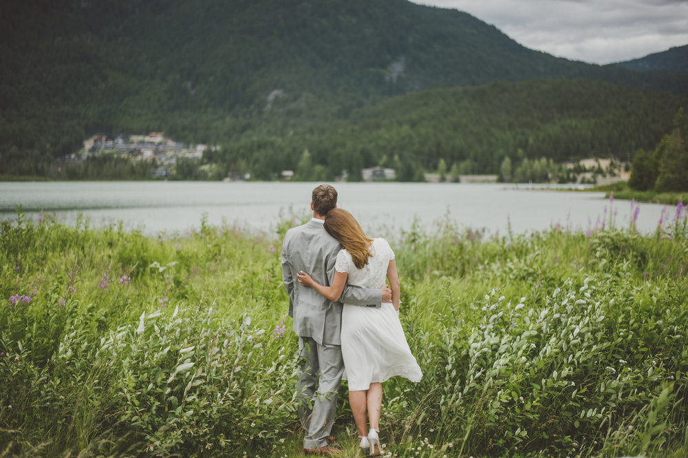 Daniel & Ange - Elopement Wedding | Whistler Wedding Collective
