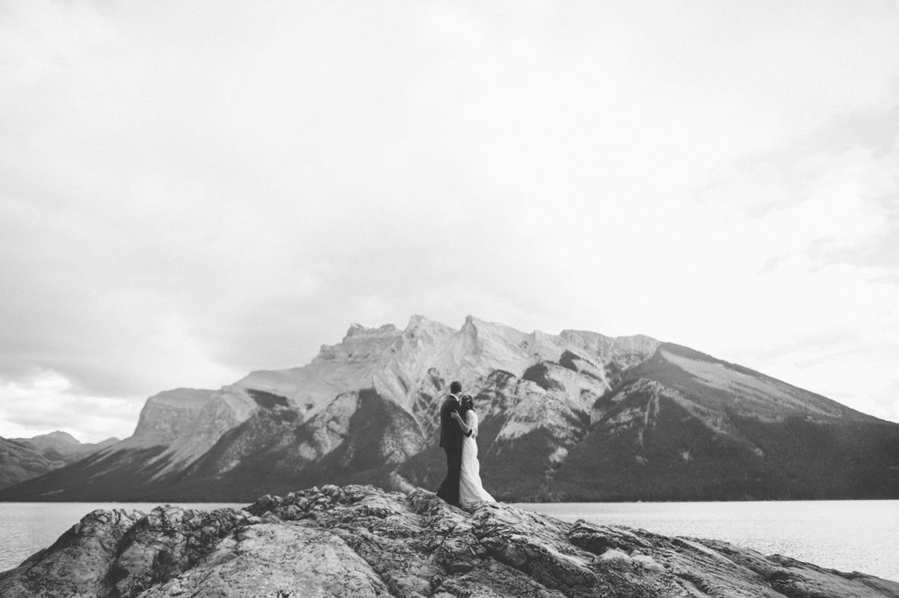 Bianca & jesse  - Late Summer Wedding | Banff