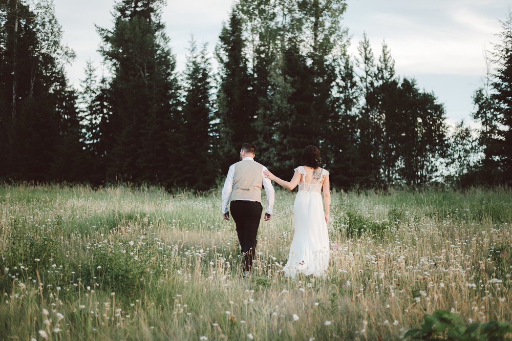 Emmary & Matt - Summer Wedding | Golden BC