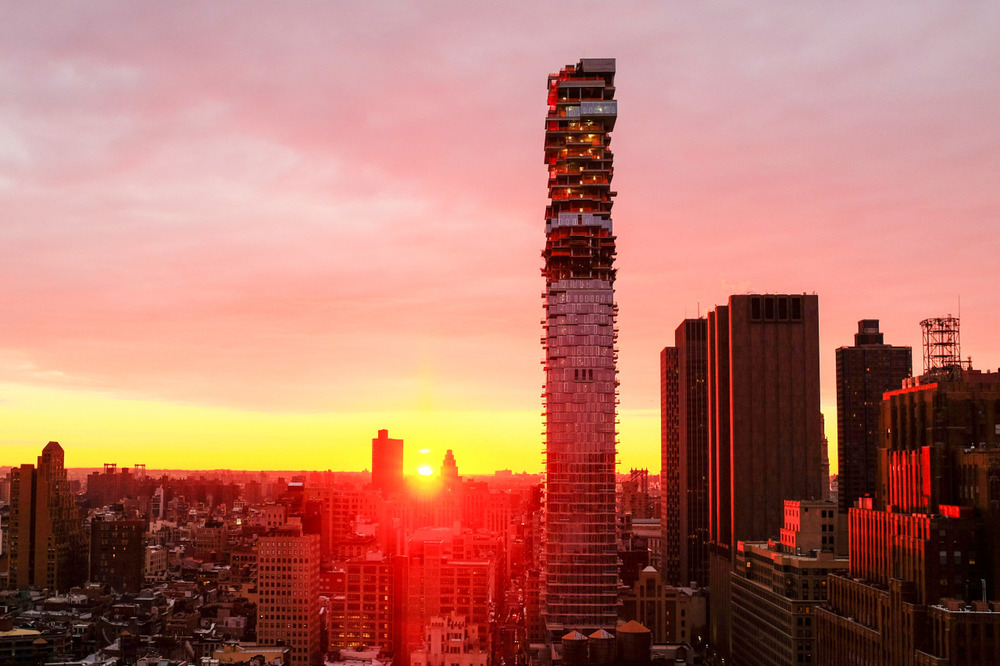 Manhattan Sunrise - November 24, 2015
