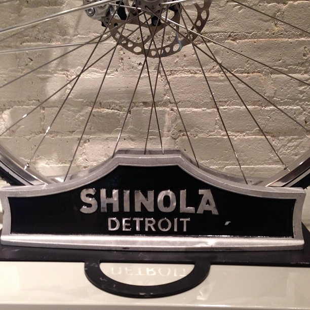 Great to see an exciting new business with Detroit provenance in Tribeca @shinola