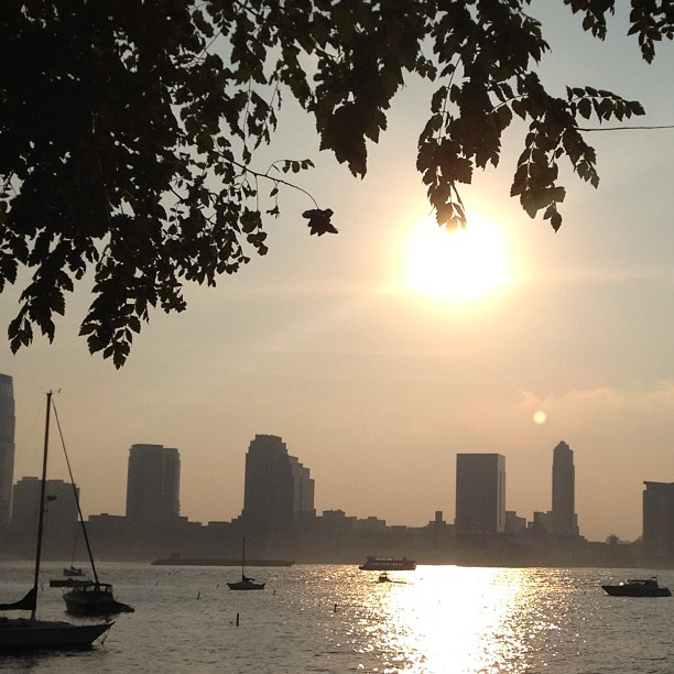 Hudson River sunset #nyc