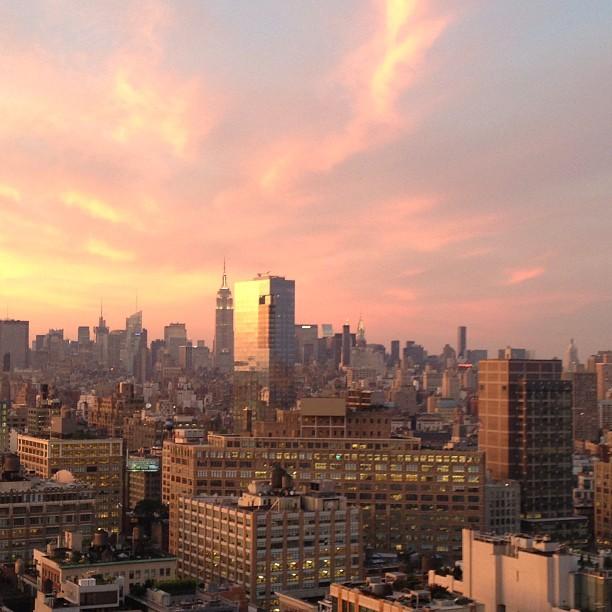 Beautiful #nyc light #nofilter